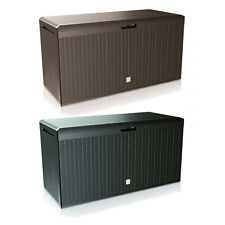 2in1  Garden Storage Box and Seat Container Patio Terrace 240L XL High Quality !