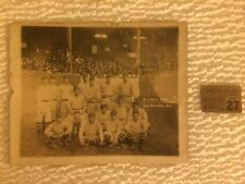 RARE Vintage 1920 Atlanta Crackers Baseball Team Photo Ticket Stb GEORGIA Braves