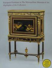 BOEK/LIVRE : European Furniture in the Metropolitan Museum of Art (antiek meubel