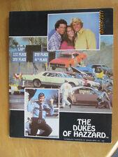 The Dukes of Hazzard School Folder General Lee Car Jump 1981 (#3574)