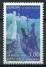 TIMBRE ANDORRE FRANCE NEUF N° 487  **  EUROPA LEGENDE LA DAME BLANCHE