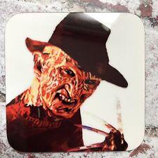 Freddy Krueger Glove A Nightmare On Elm Street Art Glossy Movie Coaster