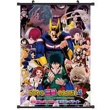 Hot Anime Boku no hero academia My Hero Academi posterScroll cosplay 2794