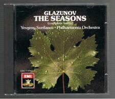 YEVGENY SVETLANOV: ALEXANDER GLAZUNOV THE SEASONS CD