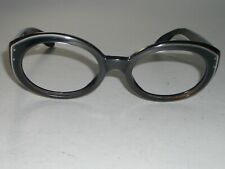 VINTAGE B&L RAY-BAN SILVER GRAYISH BEWITCHING SUNGLASSES/EYEGLASS FRAMES ONLY