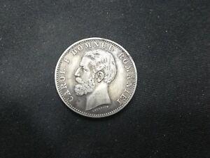 ROMANIA 1 LEU 1881