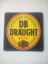 Vintage DB DRAUGHT BEER - Cat No'?? Beermat / Coaster