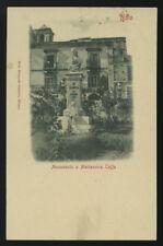 cartolina NOTO monumento a mariannina coffa