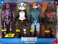 """Epic Games Fortnite Squad Mode Victory Series 12"""" 4 Pack Figures"""