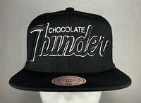 Mitchell and Ness NBA Brooklyn Nets Nickname Snapback Hat, Cap, New