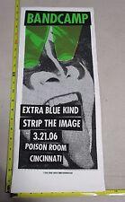 2006 Rock Concert Poster BandCamp Extra Blue Kind Print Mafia S/N LE#40 KISS