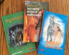 Lot of 3 Pony Club HBK Books Diablo  Gabi Adam Anna Sellberg Isolde Pullum