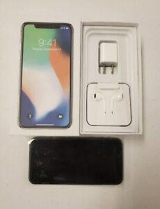 Apple iPhone X - 256GB - Space Gray (Verizon Unlocked) A1865 (CDMA   GSM)