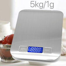 5kg/1g Mini Electronic Digital Pocket Gold Jewellery Weighing Kitchen Scales