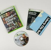 Grand Theft Auto IV GTA (Microsoft Xbox 360) Complete With Manual & Map!