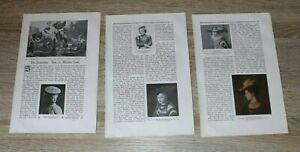 7 Blatt Der Frauenhut 1908/09 Dr Walther Hoof Mode Text Abb Zeitschrift Artikel
