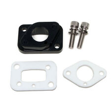 ADA Racing Billet Intake Manifold Carb Isolator for Zenoah G320RC Engine Black