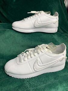 Nike Basic Cortez NCXL Noise Cancelling White Men's Shoes Size 5 (CI5776-110)
