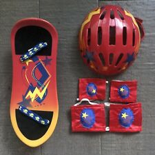 Build A Bear Complete Skateboard Helmet 2 Knee Pads 2 Elbow Pads Set