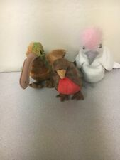 Beanie Babies- Early, Kuku,Beak