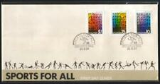 Singapore 1981, Sports For All FDC, Free Local Postage