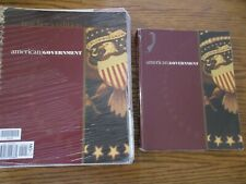 BJU 12th grade American Government set (2nd edition)