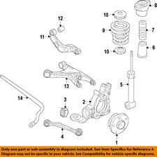 AUDI OEM 12-15 A7 Quattro Rear-Shock Absorber or Strut 4G8513035A
