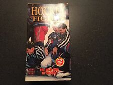 Hockey Fights 2 Tape VHS Set