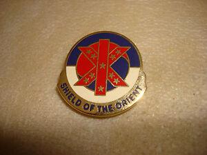 États-unis Ix Corps Distinctif Unité Insignes Fabriqué Par NS Meyer Inclus Neuf