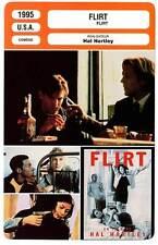 FICHE CINEMA : FLIRT - Austin,Burke,Donovan,Hartley 1995