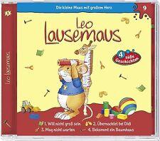 Leo Lausemaus - Folge 9: Will Nicht Groß Sein (CD   Hörspiel   Kiddinx)
