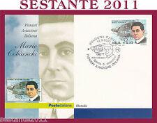ITALIA MAXIMUM MAXI CARD 2003 I PIONIERI AVIAZIONE ITALIANA MARIO COBIANCHI A64