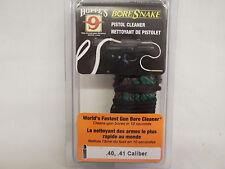 HOPPE'S Boresnake Firearm 40 - 41 Cal Pistol Bore Cleaner 24003