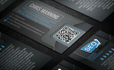 Custom Professional Business Card Design - Unlimited Revisions