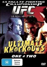 UFC Ultimate Knockouts 1 & 2 New DVD Region 4 Unsealed
