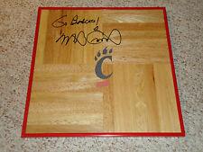 Mick Cronin Signed Cincinnati Bearcats Framed Basketball Floor PROOF Autographed