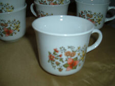 Lot of 8 Corelle Indian Summer cups