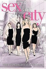 Sex and the City: The Complete First Season (DVD, 2008, 2-Disc Set) NEW SEALED
