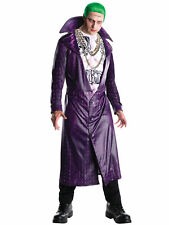 The Joker Suicide Squad Deluxe Super Villain DC Comics Licensed Mens Costume