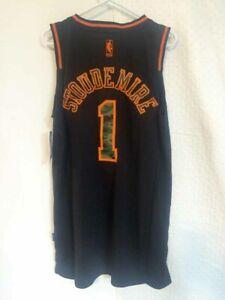Adidas Swingman NBA New York Knicks Stoudemire HARDWOOD CLASSIC CAMO Jersey 2XL