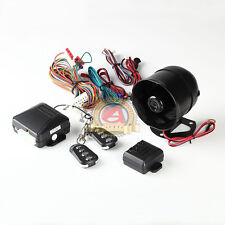 Two Way Auto Alarm System With Four Buttons Remote Control Suitable For All Cars