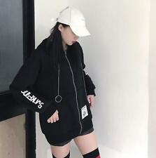 Harajuku Sweet Loose Black BF Punk Japanese Sweatshirts Coat Mori Girl Hoodie