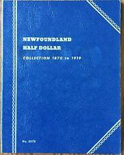 Newfoundland Half Dollar Canada Whitman Folder #9078 NOS