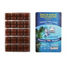 18 x Discus cibo (AGLIO / knoflook) 100g Blister Pack-Premium pesci congelati CIBO