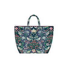 PiP Studio Beach Bag Oh my Darling Blau Strandtasche Blumen Vögel Strand Urlaub