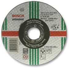 Straight Cutting Disc For Stone 125 x 2.5 x 22.23mm