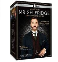 Mr Selfridge: The Complete Series Seasons 1-4 (DVD, 2016) NEW! Free Shipping!