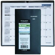 2021 At-A-Glance DayMinder Sk53-00 Monthly Pocket Planner, 3-5/8 x 6-1/16""