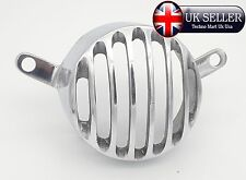 ROYAL ENFIELD CLASSIC REAR BRAKE TAIL LIGHT PROTECTOR GRILL ALLOY CHROME @UK