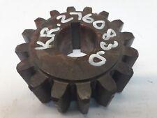 Krone Pick up reel drive off 816 & 1016 part No KR276083.0. 16 teeth sprocket.